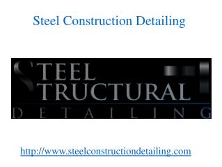 Sheet Metal Fabrication - Steel Construction Detailing
