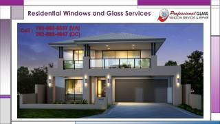 We offer high oriented professional glass repair services | Call now (703) 879-8777