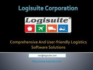 Advance Logistics Software Solutions USA - Logisuite.com