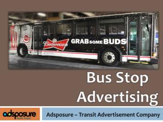 Bus Stop Advertising - Adsposure.com