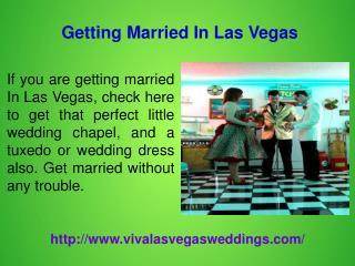 Themed Las Vegas Weddings
