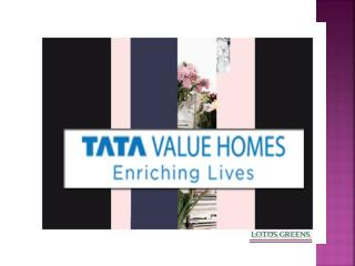 Tata Value Homes New Project