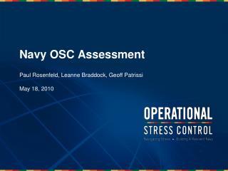 Navy OSC Assessment