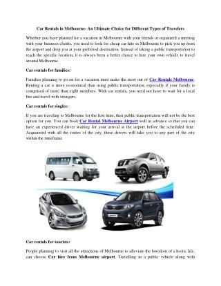Cheap Sports Car Rentals Melbourne