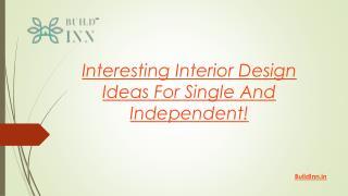 Interesting interior design ideas for Woman