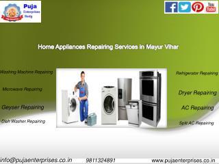 Trustworthy Washing Machine Repair Service in Mayur Vihar Phase 2