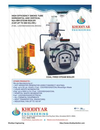 Hot air generator manufacturers