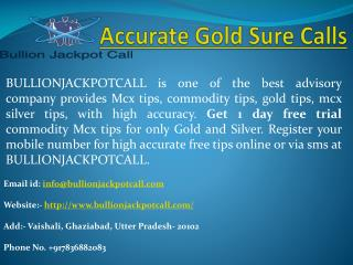 Mcx Commodity Tips Free Trial