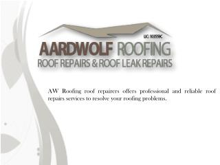 Find Residential Roof Repairs Services in Killara