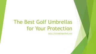 best golf umbrellas, golf utilities