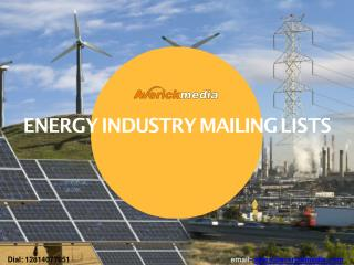 Energy Industry mailing list