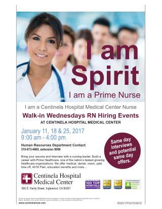 Nursing Careers | Centinela Hospital Medical Center