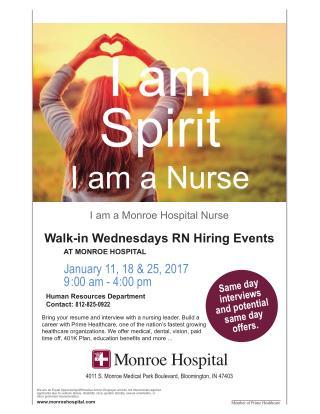 Nursing Careers at Monroe | Bloomington Primary Care