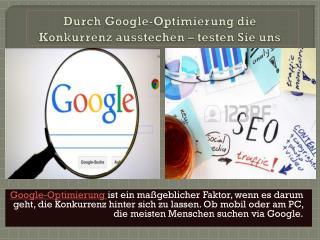 Google-Optimierung