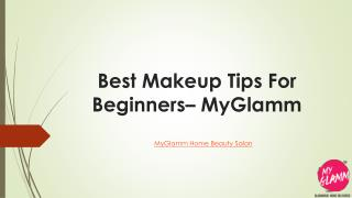 Professional Makeup Tips for Beginners - MyGlamm