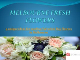 Valentine Day Flower Delivery | Send Roses For Valentine Day | Melbourne Fresh Flowers