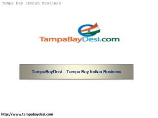 TampaBayDesi – Tampa Bay Indian Business