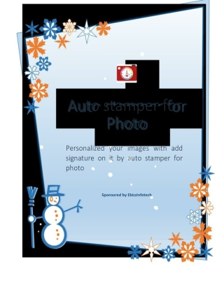 Personalized your images with add signature