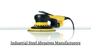 Industrial Steel Abrasives Manufacturers in UAE