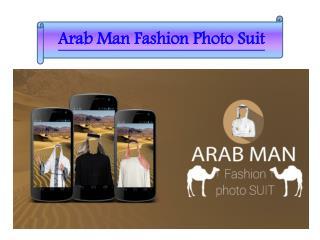 Arab Man Fashion Photo Suit Application