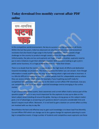 Civil Services Solved Paper PDFBooks