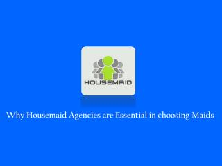 Choosing Maid Agency in Singapore
