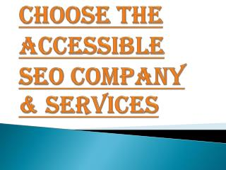 Choose the Best SEO Company & Services in New York