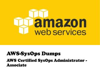 Verified Amazon AWS-SysOps Exam Question & Answers