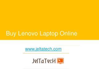 Buy Lenovo Laptop Online - www.jeltatech.com