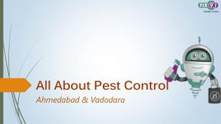 All About Pest Control