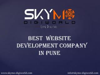 Best Website Development Company In Pune|Skymo Digiworld