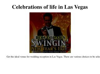 inexpensive wedding reception in Las Vegas