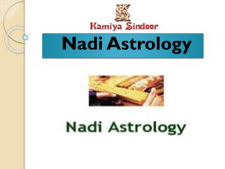Nadi astrology services