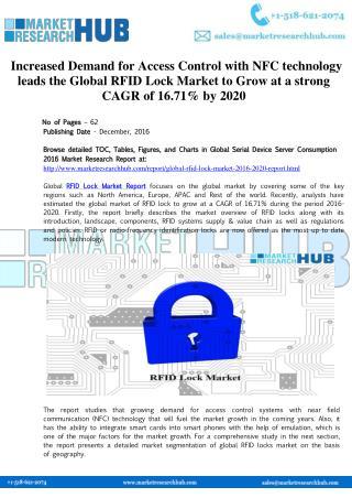 Global RFID Lock Market Forecast Report