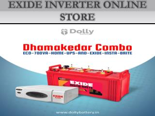 Exide Inverter online in ncr @9958592015