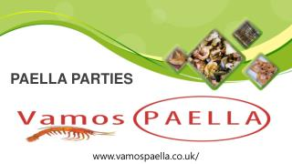 Paella Parties