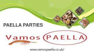 Paella Parties