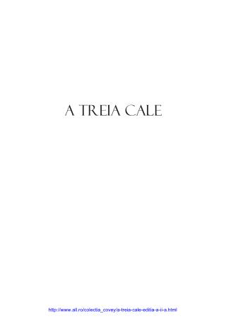 A Treia Cale Download Gratis, Covey
