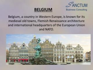 Looking for Belgium Visitor visa?Contact - Sanctum Consulting