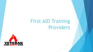 First Aid Training Providers