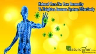 Natural Cure For Low Immunity To Heighten Immune System Effectively
