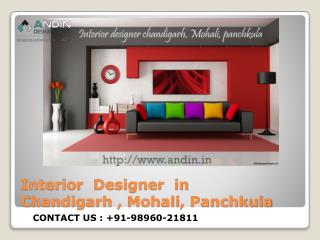 Interior Decorators in Chandigarh