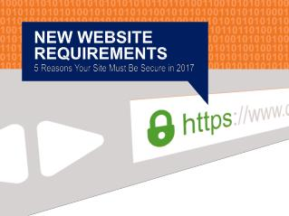 5 Reasons your Site must be Secure in 2017