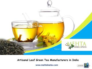 Artisanal Leaf Green Tea