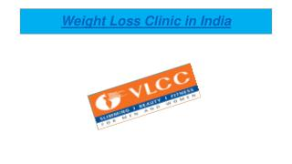 Weight Loss Clinic in India