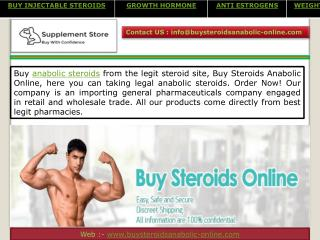 Buy Injectable Steroids Online