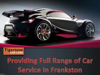 Car Service in Frankston