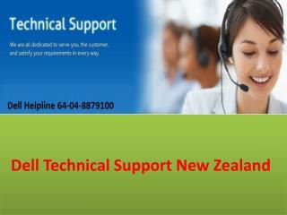 Dell Support NZ Helpline 64-04-8879100