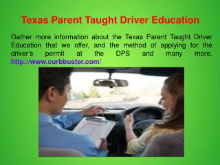 Texas Graduated Driver License Program