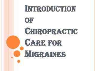 Benefits of Chiropractic Care for Migraines
